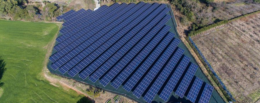 三河商事の太陽光発電