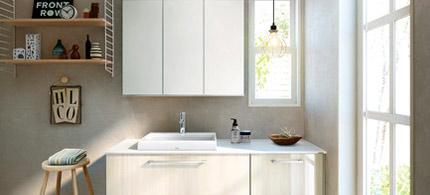 洗面台のリフォームとリノベーション