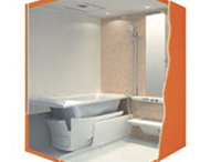 断熱材で包み込む浴槽